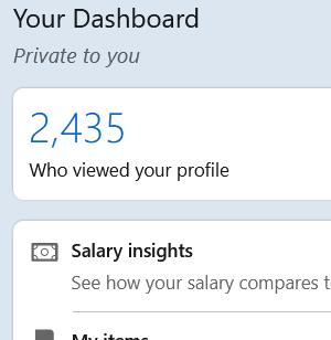 LinkedIn Premium- Who Viewed My Profile