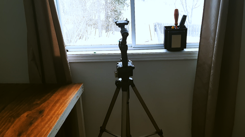 I use a gimble to make YouTube videos with my phone